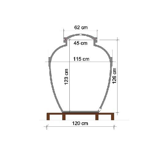 Anfora 850 litara